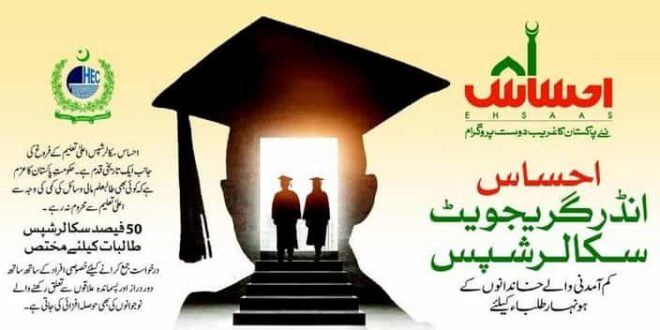 Fully-Funded Ehsaas Scholarships 2020 For Undergraduate ...